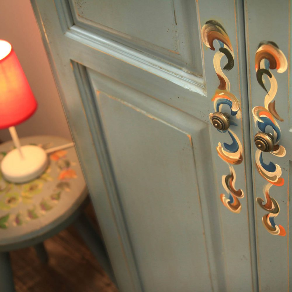 Camera Albastru Celest, Chalet Charm, Pastel Chalet, boutique hotel, Romania, cazare (4)