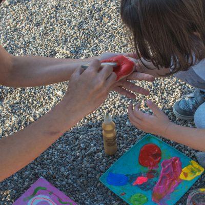 Pastel Chalet, Timeless Story, joc, joaca, craft, copii, pictura, construim, descoperim (25)